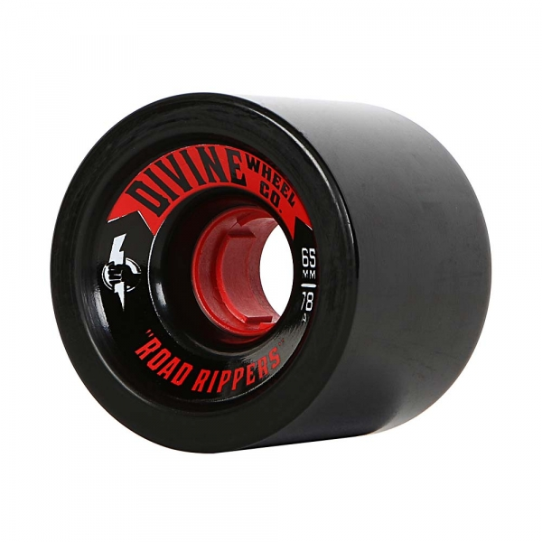 Divine 65MM Road Rippers  Black 78a
