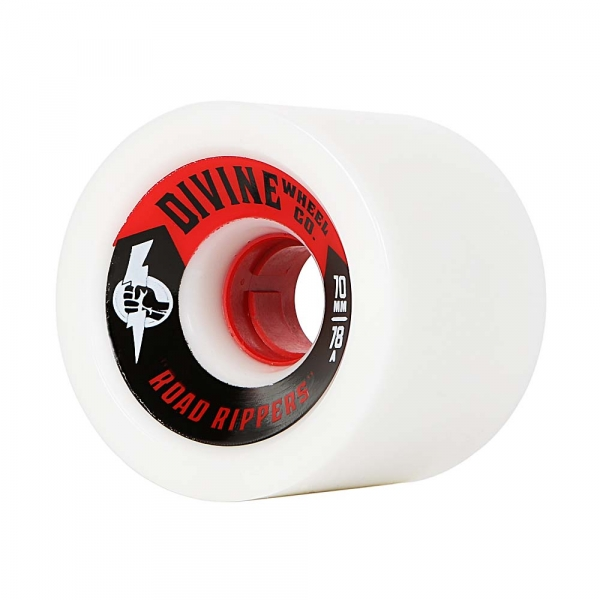 Divine 70MM Road Rippers  White 78a