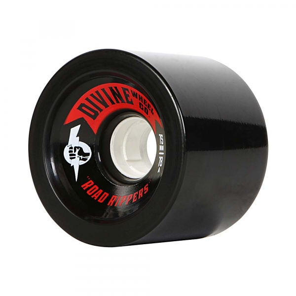 Divine 75MM Road Rippers Black 78A