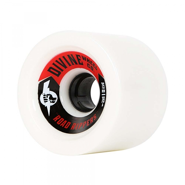 Divine 75MM Road Rippers White 78A