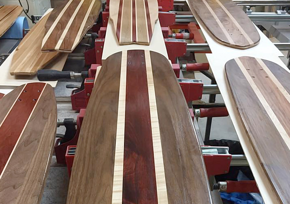 Handcrafted Longboards